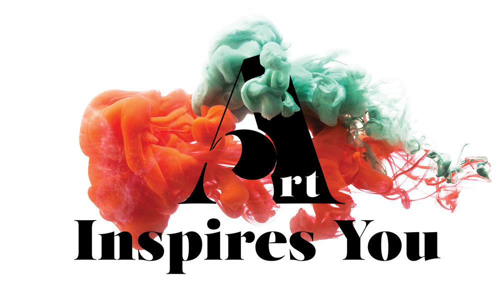 "Logo for upcoming ""Art Inspires You"" (@artinspiresyou) community for artists."