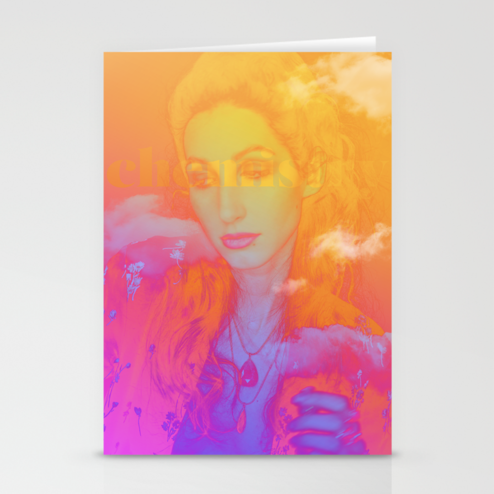 "Geena Matuson's (@geenamatuson) art ""Chemistry"" printed on demand in her online shop @ thegirlmirage.com."