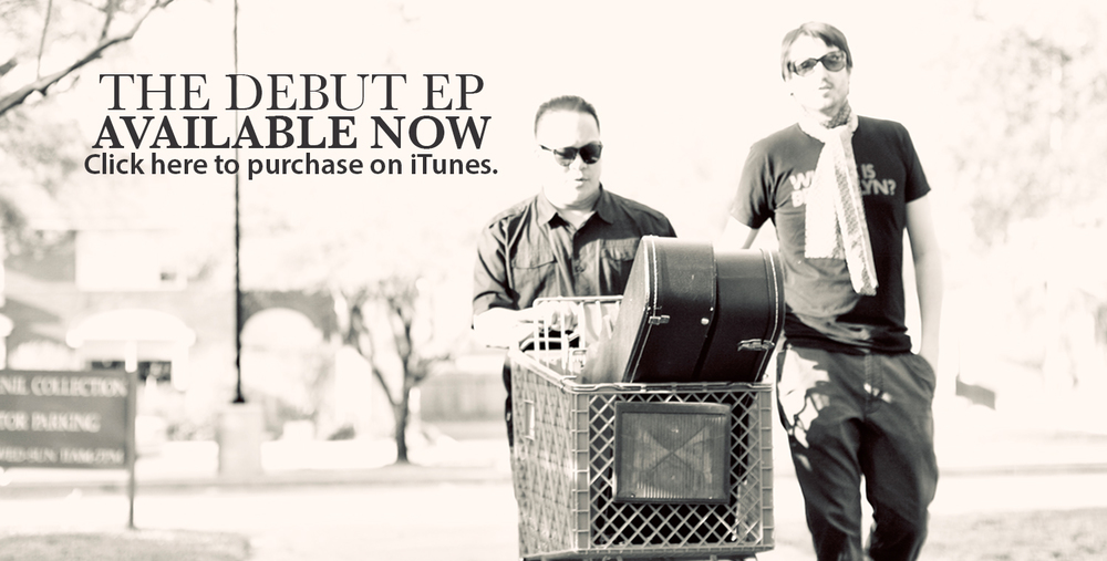 FAKIN' IT's self-titled debut EP is available oniTunes,CD Baby, Spotify,Google playandAmazon MP3.