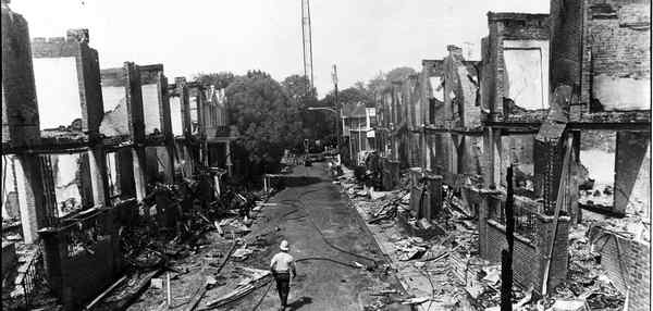 [Aftermath of the bombing. photo courtesy Philly.com]