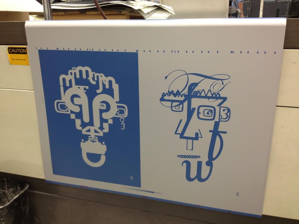 Printing at Franklin Dodd