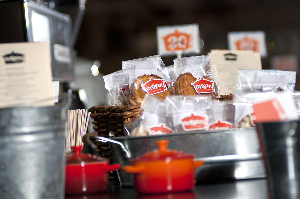 Artisan Kitchen & Bar. Branding