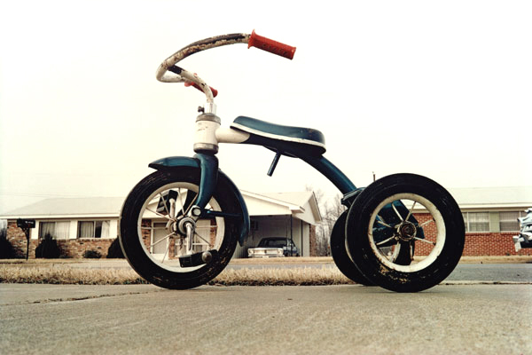 William Eggleston. 1970 ( Untitled, Tricycle  and  Memphis)