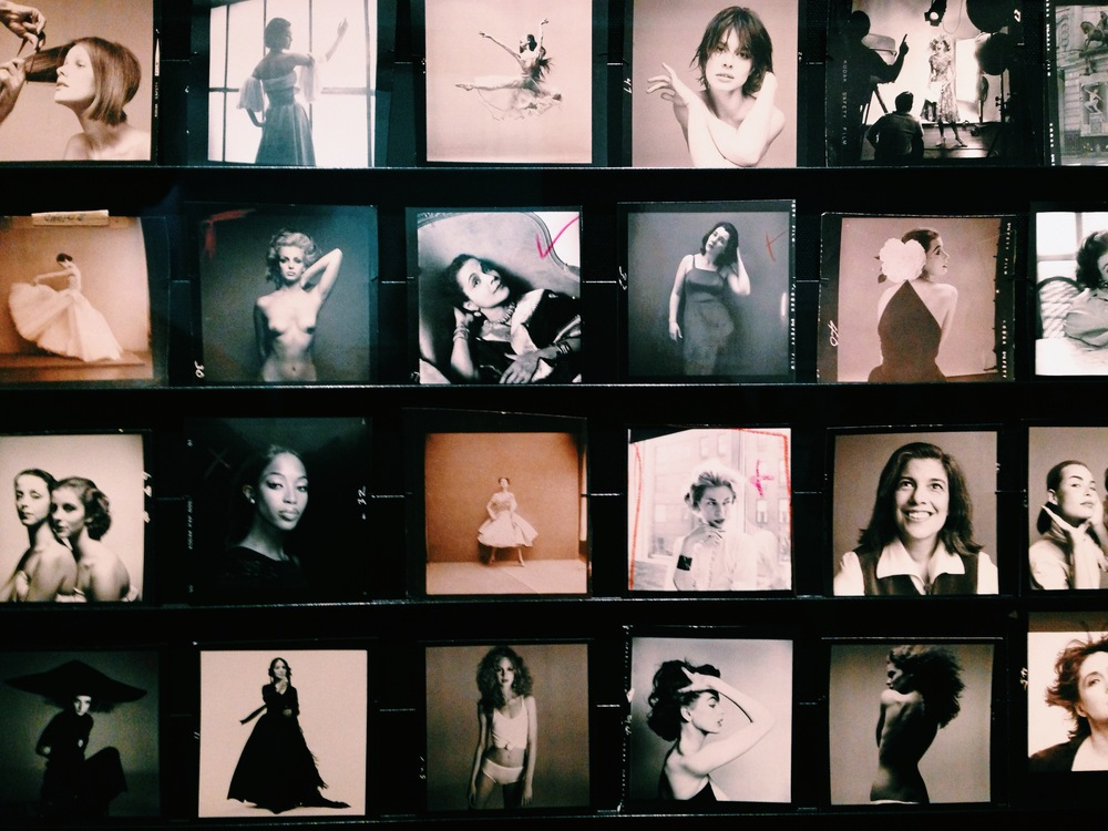 naomi yamada visits richard avedon at gagosian 3