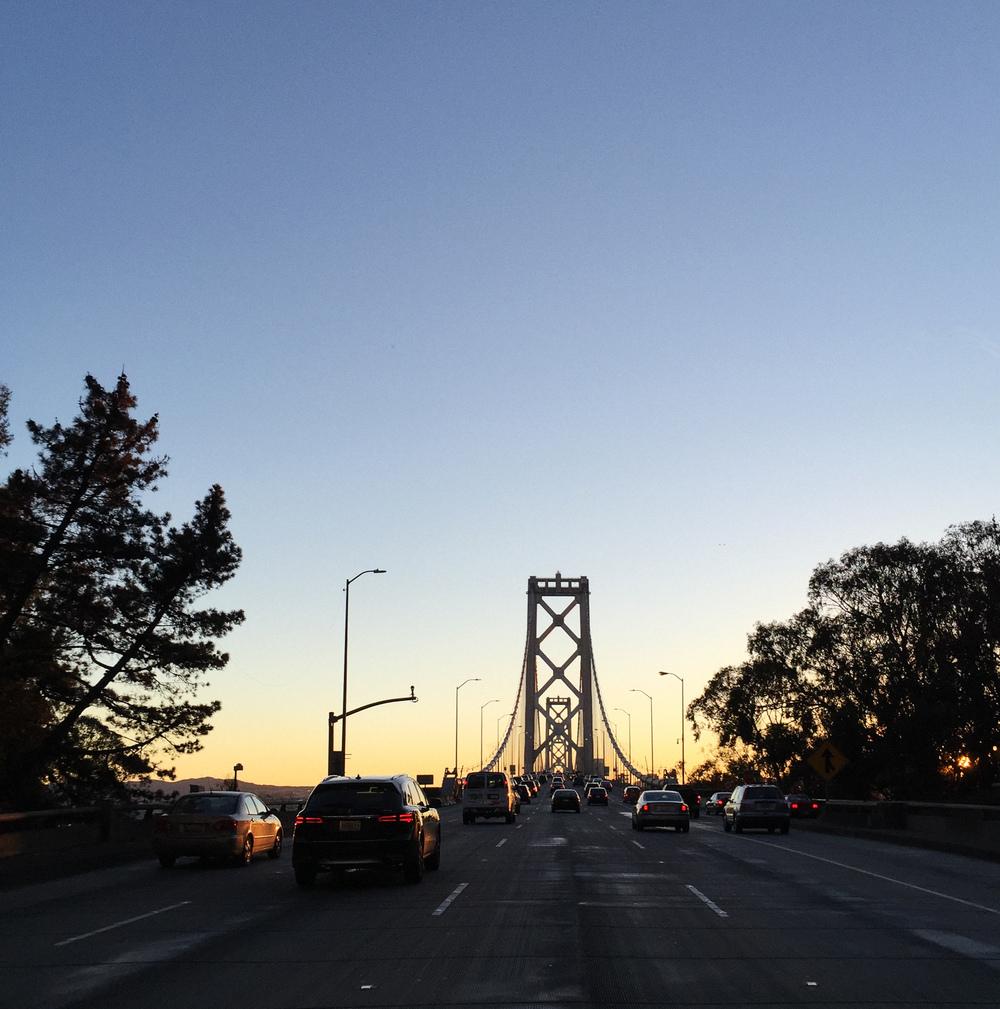 San Francisco Bay Bridge by Naomi Yamada