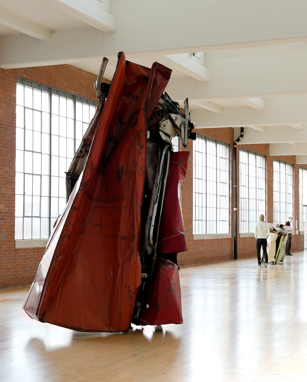 John Chamberlain at DIA Beacon