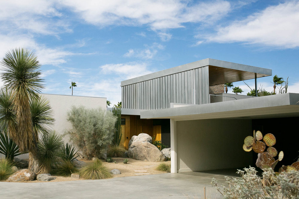 Kaufmann House by Richard Neutra / I talk about it  here.