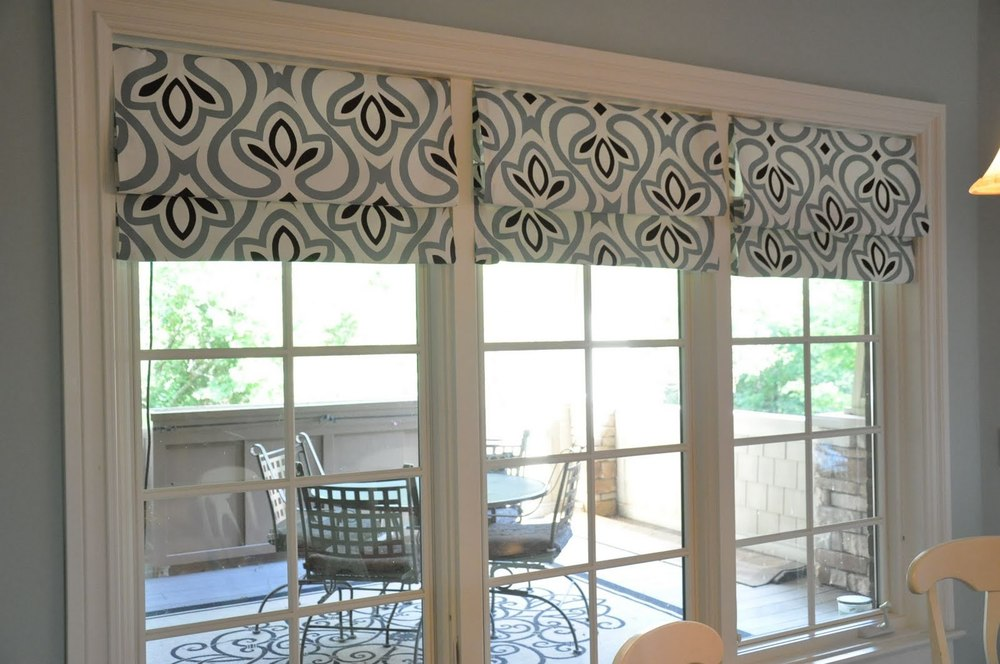 there are literally thousands of choices when deciding to decorate with Roman Shades