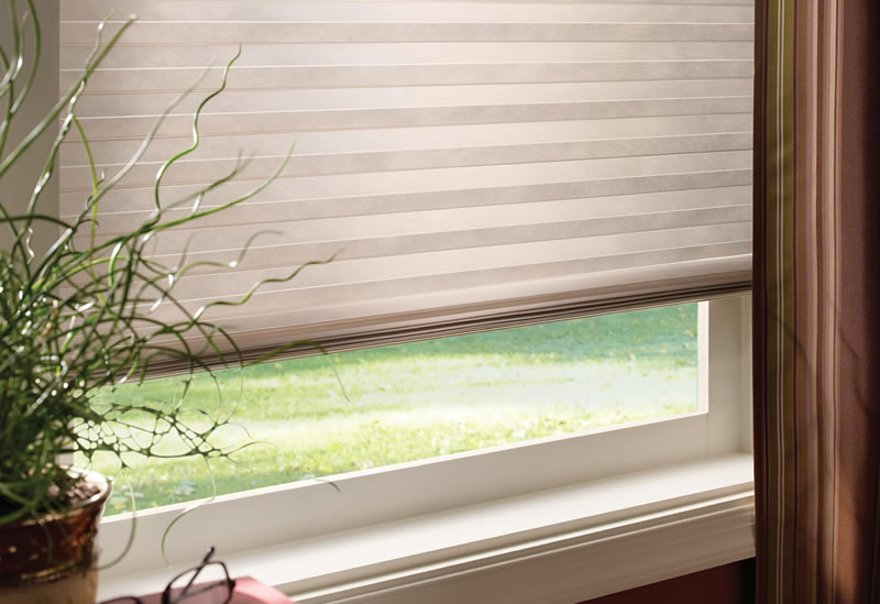 Try a cellular shade backed by two great names, Good Housekeeping and Select Blinds.