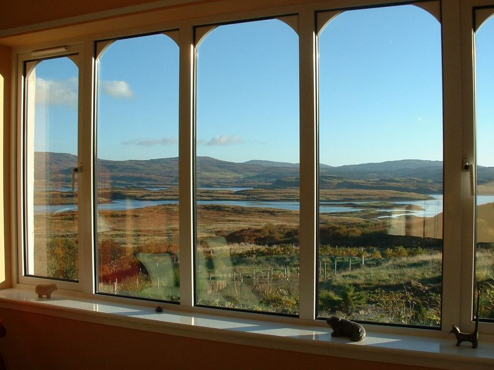 find creative ways to cover a window with BIG Views!