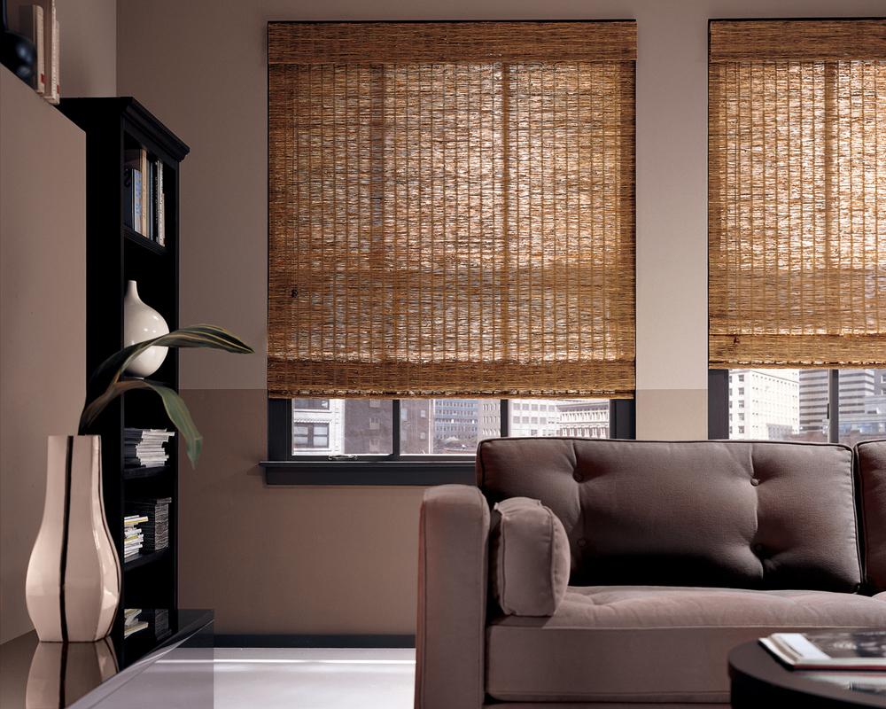 These Roman Shades from SpinCusion are a great demonstartion of alternating styles.