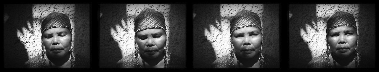 Anelfa Gemilo from the B'laan tribe. She is in search for justice for Juvy Capion who was slain on October 18, 2012 along with her two children Jordan and John by alleged members of the military. Juvy was a community leader involved in a campaign against Sagittarius Mines Inc. (SMI) which is accused of exploiting natural resources on the ancestral lands of the B'laan people. All of them sustained multiple gunshot wounds to their heads and bodies. Jordan's skull was broken in half. Juvy was three months pregnant when she was killed. They are survived by 4-year old Vicky who survived and witnessed the massacre.
