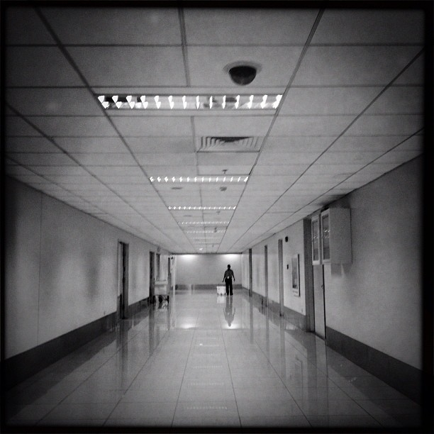 A lie told often enough becomes truth. #hipstamatic #makebeautiful (Taken with Instagram at Ninoy Aquino International Airport (MNL) Terminal 3)
