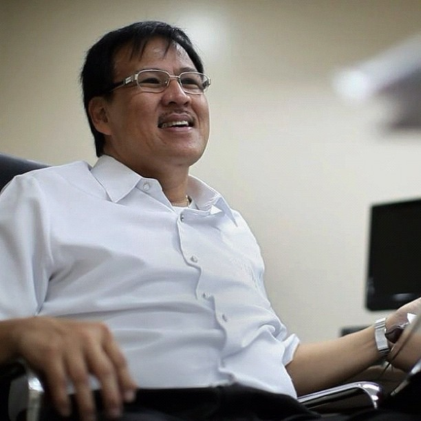 Jesse Manalastas Robredo. May 27, 1958 – August 18, 2012. #salamatjesse (Taken with Instagram at DILG)