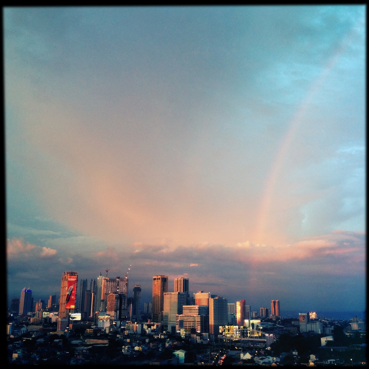 And there was a rainbow for the #comedyking at the end of the day. #RIPDolphy