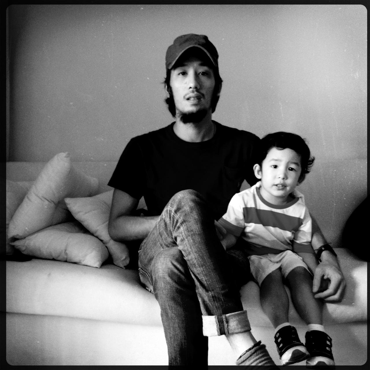 Leopoldo and son