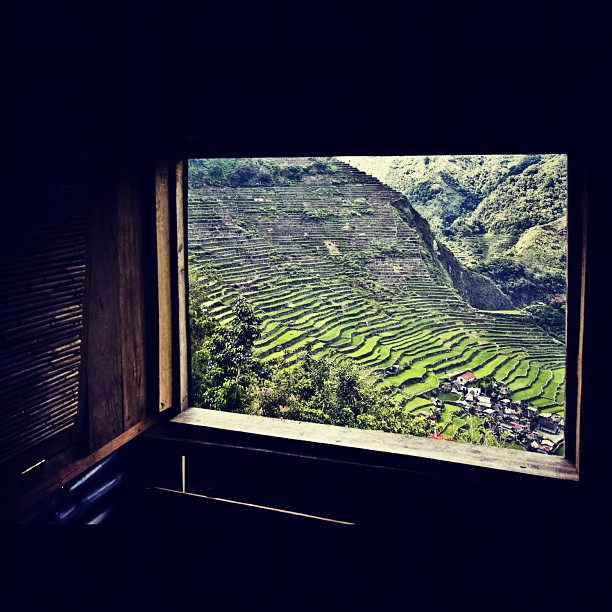 Happy to hear the news that the rice terraces are off the endangered UNESCO World Heritage Site List (Taken with Instagram)