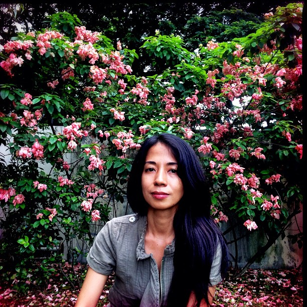 My personal heroine. Kiri Dalena, Bantayog circa 2012 (Taken with Instagram at Bantayog ng mga Bayani)