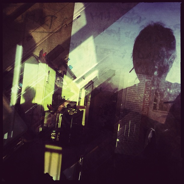 Playing with the shadows in my head (Taken with Instagram at Adoboland)