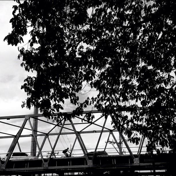 Taken with Instagram at Rockwell-Mandaluyong Bridge