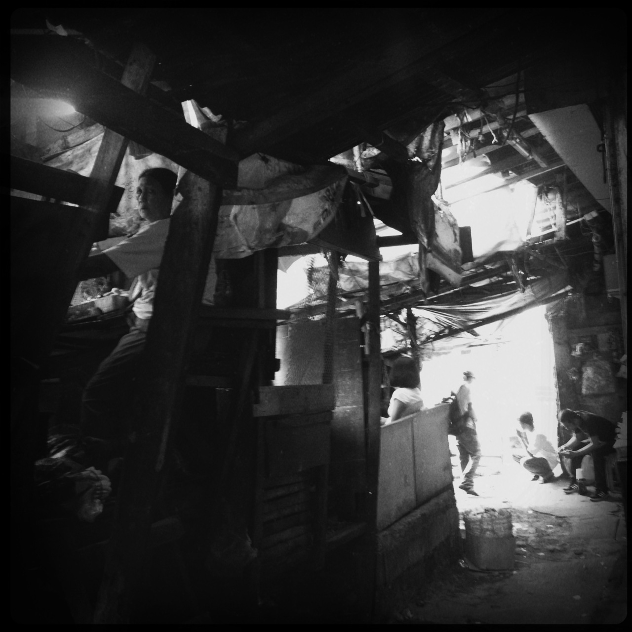 A place where stolen steel is the key to survival #photojournalism #hipstamatic #poverty