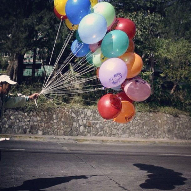 How could you not love balloons (Taken with Instagram at Baguio City)