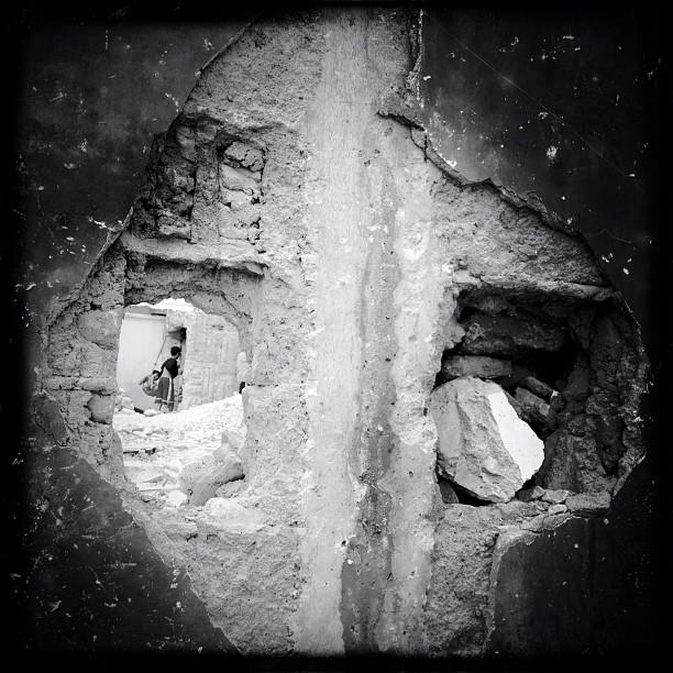 Post demolition at Silverio (Taken with Instagram at Silverio's Compund)