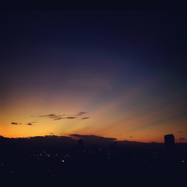 Looks like it's going to be a sunny Sunday over Manila (Taken with Instagram at Adoboland)