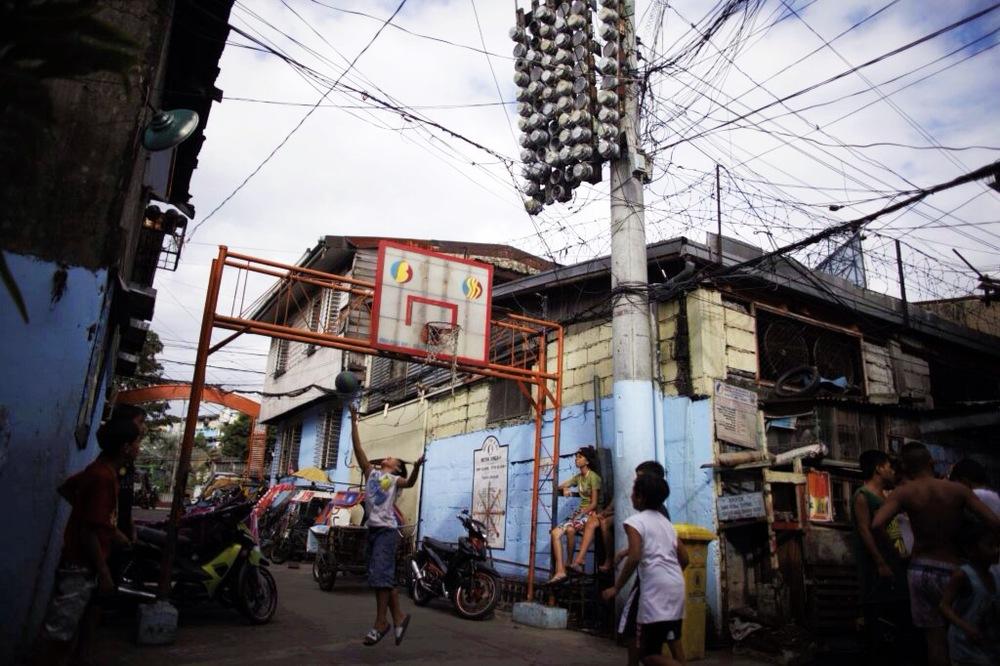 Outtake. Barangay Mataas na Lupa, Manila.
