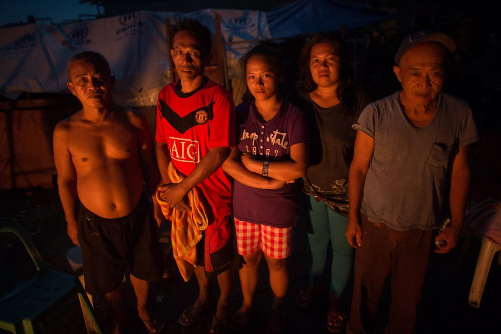 Depaz and Marquez family of Tanauan Leyte. No casualties, no more house to live in. Calling for Angelina of Novaliches