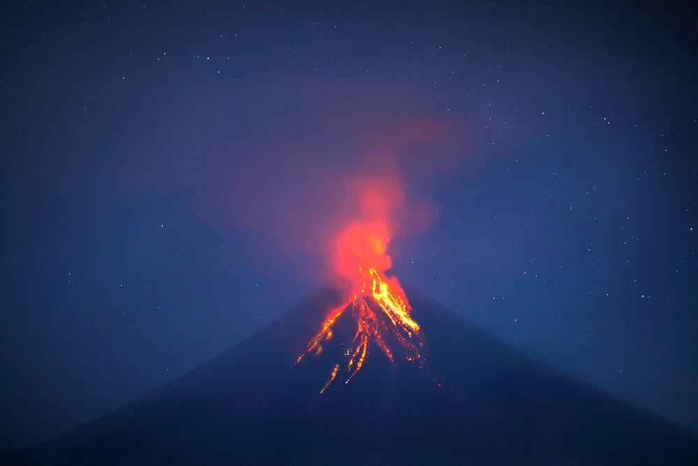 Mayon Volcano circa 2010