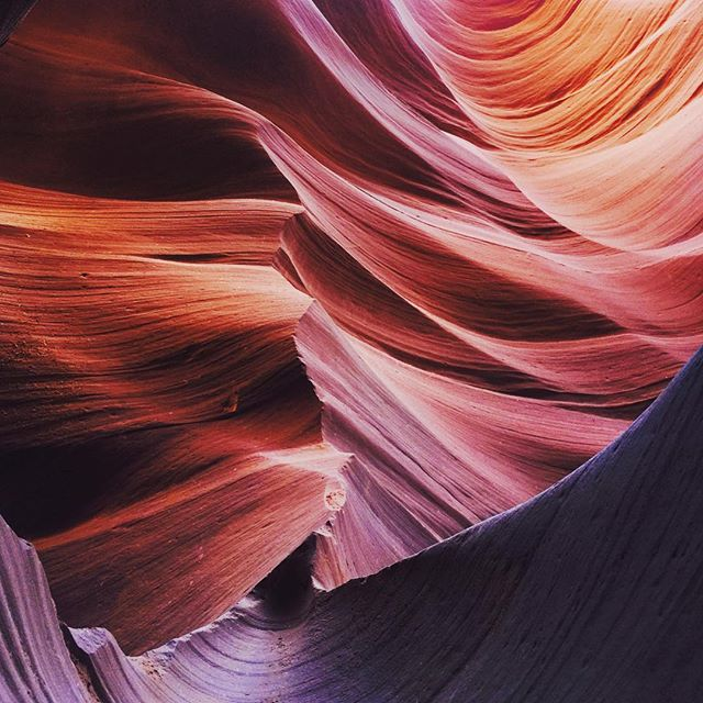 Lower Antelope Canyon, Arizona. #antelopecanyon #iPhone #Travel #Nature #color