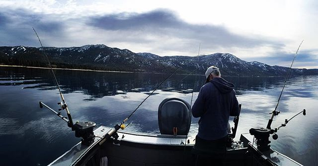 Gone fishing. Lake Tahoe, Nevada. #Nevada #Tahoe #Travel #iPhone #outdoor