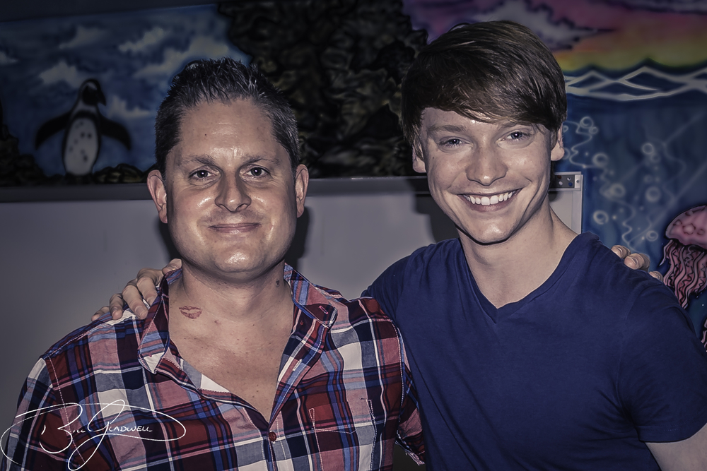 Bill Gladwell and Calum Worthy
