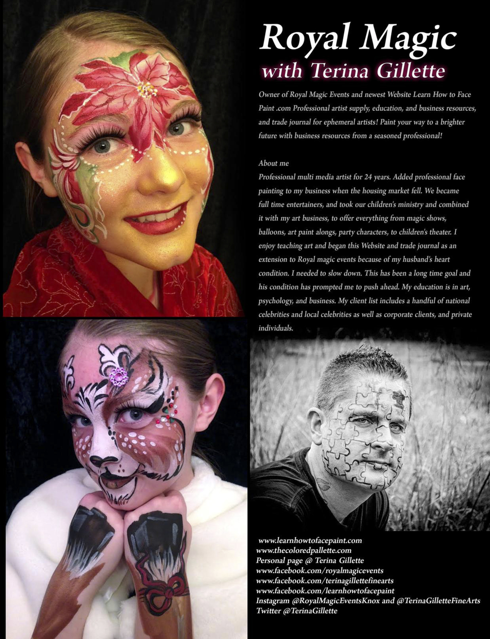 Bill Gladwell in SkinMarkz Magazine