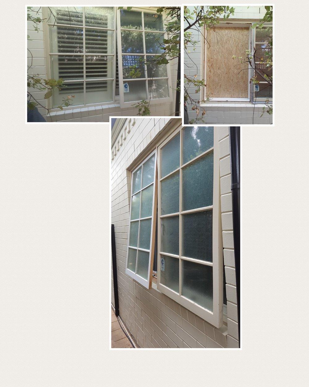 Window alteration : Walkerville
