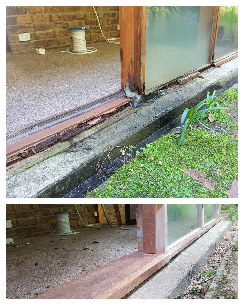 Sill replacement : Cherry Gardens