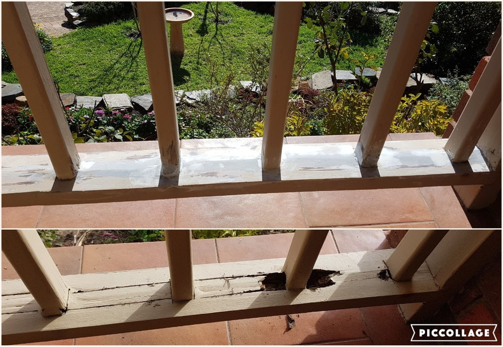 Balusters & Rail Restoration : Seaview Downs