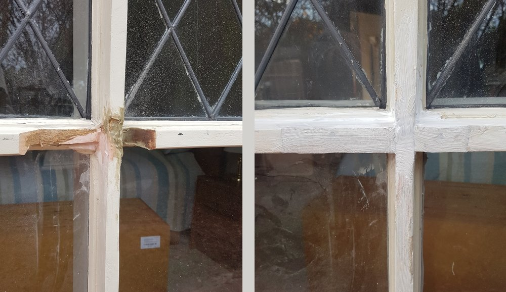 Rot Replacement to glazing bars : Linden Park