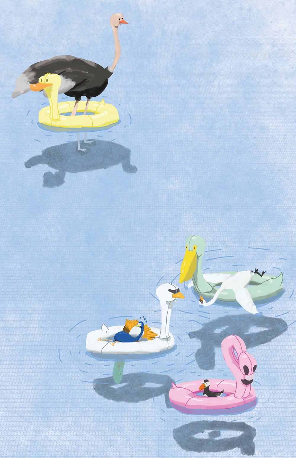 Bird Bath , 2015. Digital Read about the process  here .