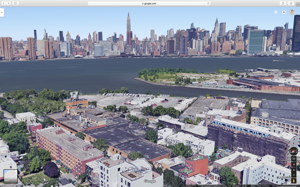 This is kinda the view from my apartment but from a much higher elevation. I used Google maps to figure out the names of buildings and totally forgot there was this 3D Maps feature that made things so much more easier.