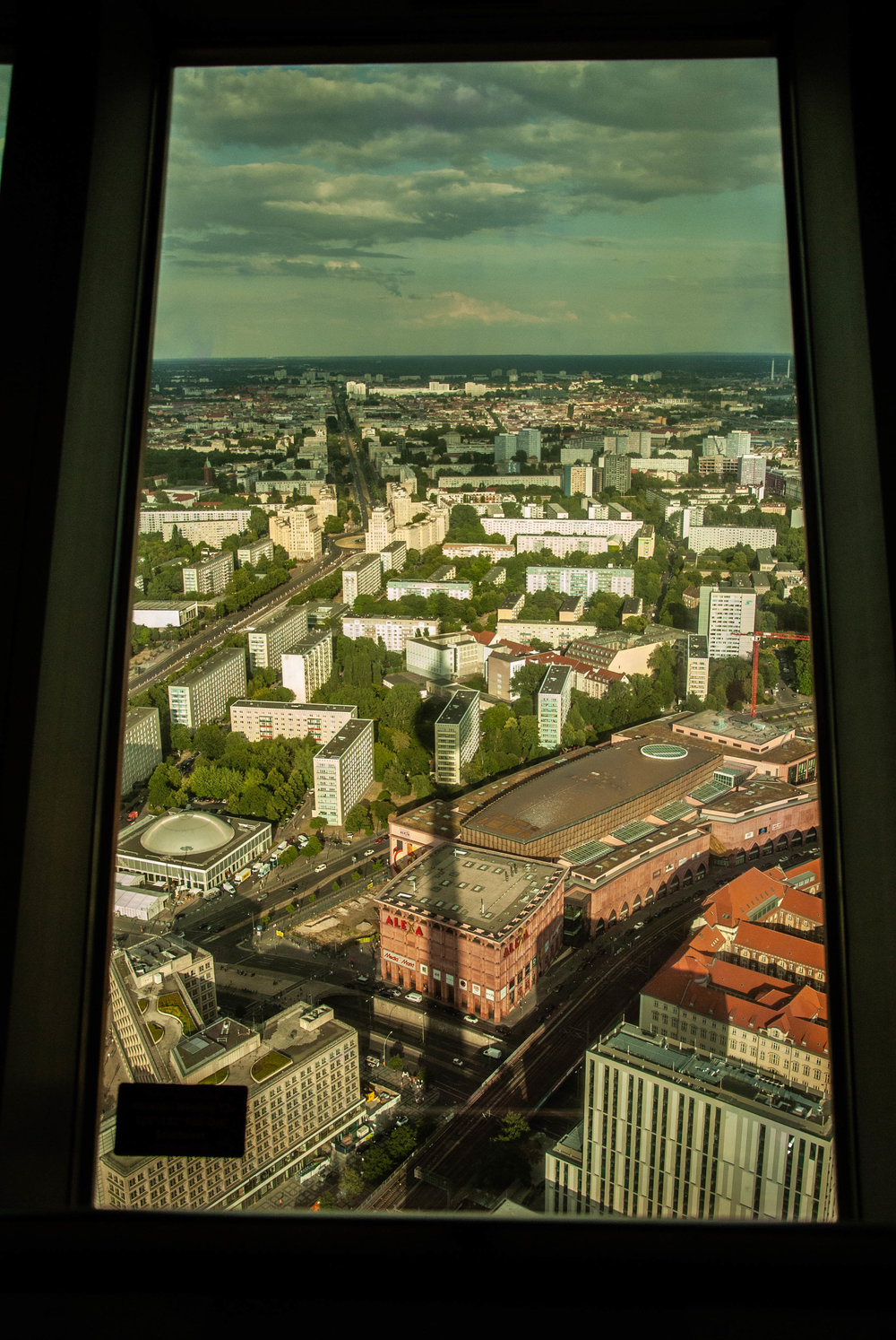 Views from Fernsehturm