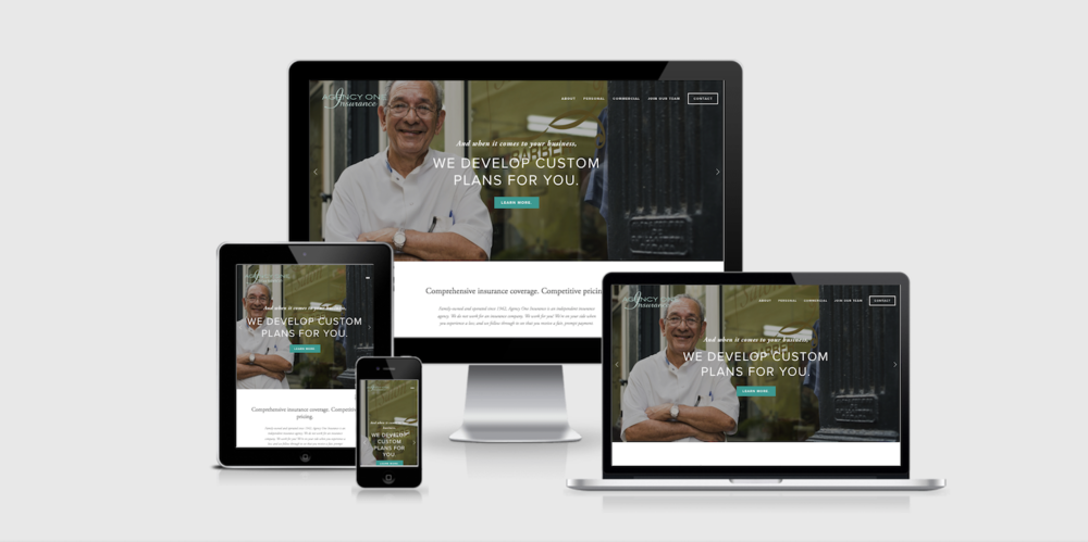Agency One Insurance Website