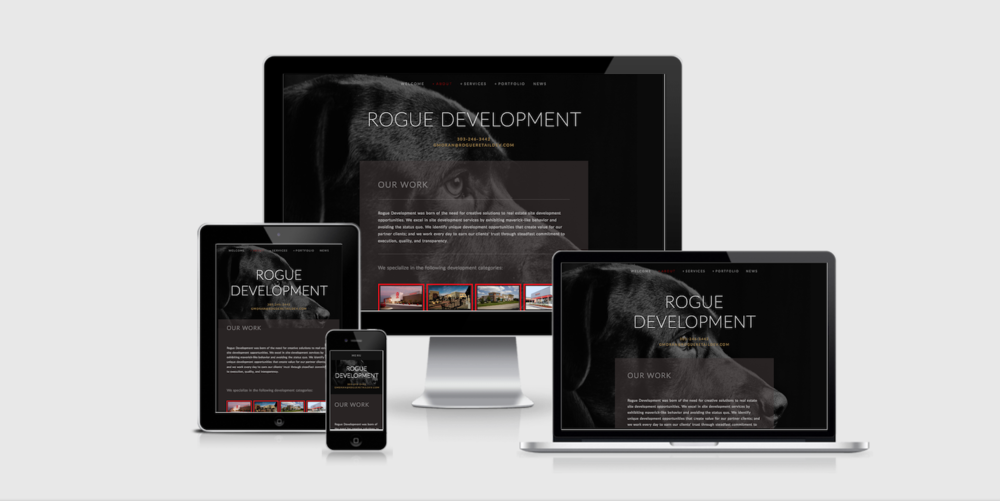 Rogue Development LLC Website