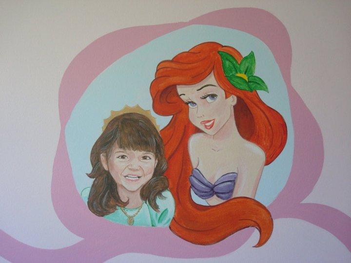 ariel kids mural