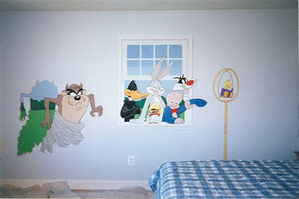 Looney Tunes Wall Mural