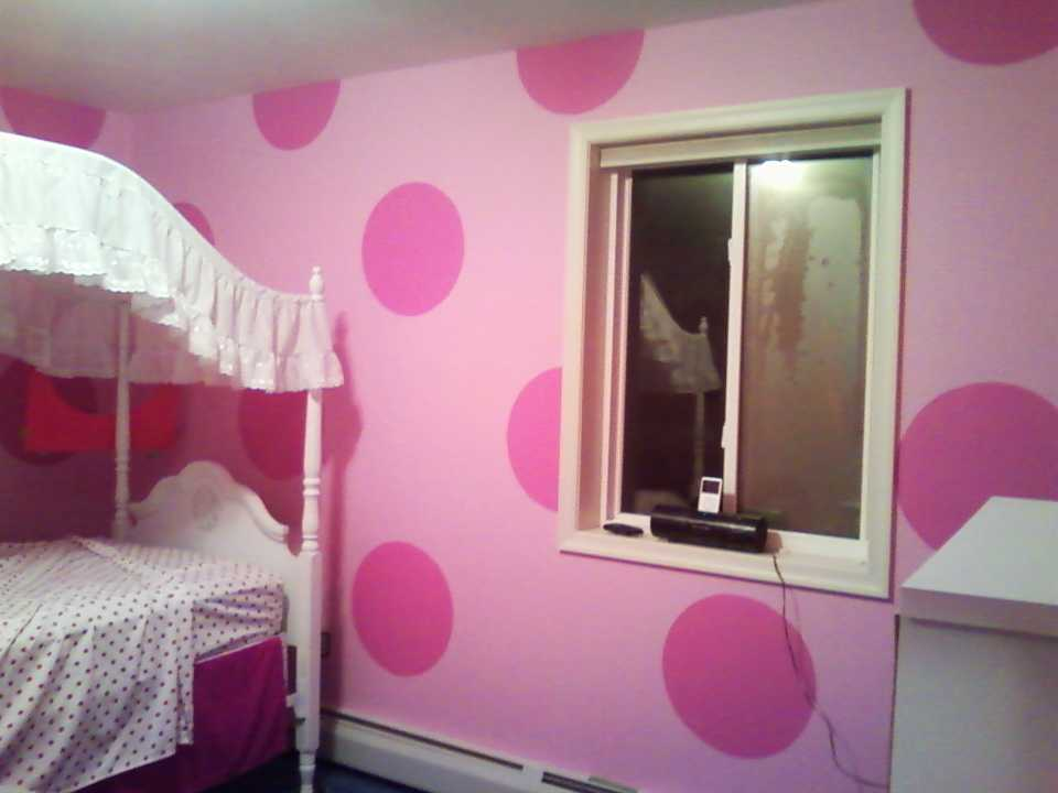 Girls Room Interior Painting
