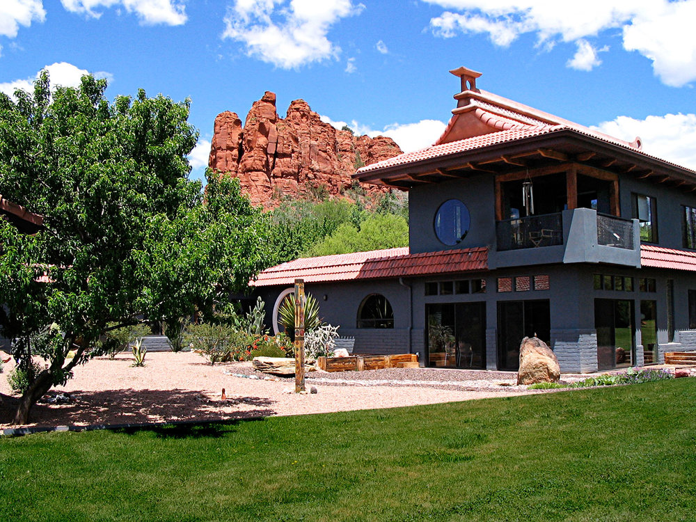 Moondance Property, our private space at the foot of the Red Rocks.