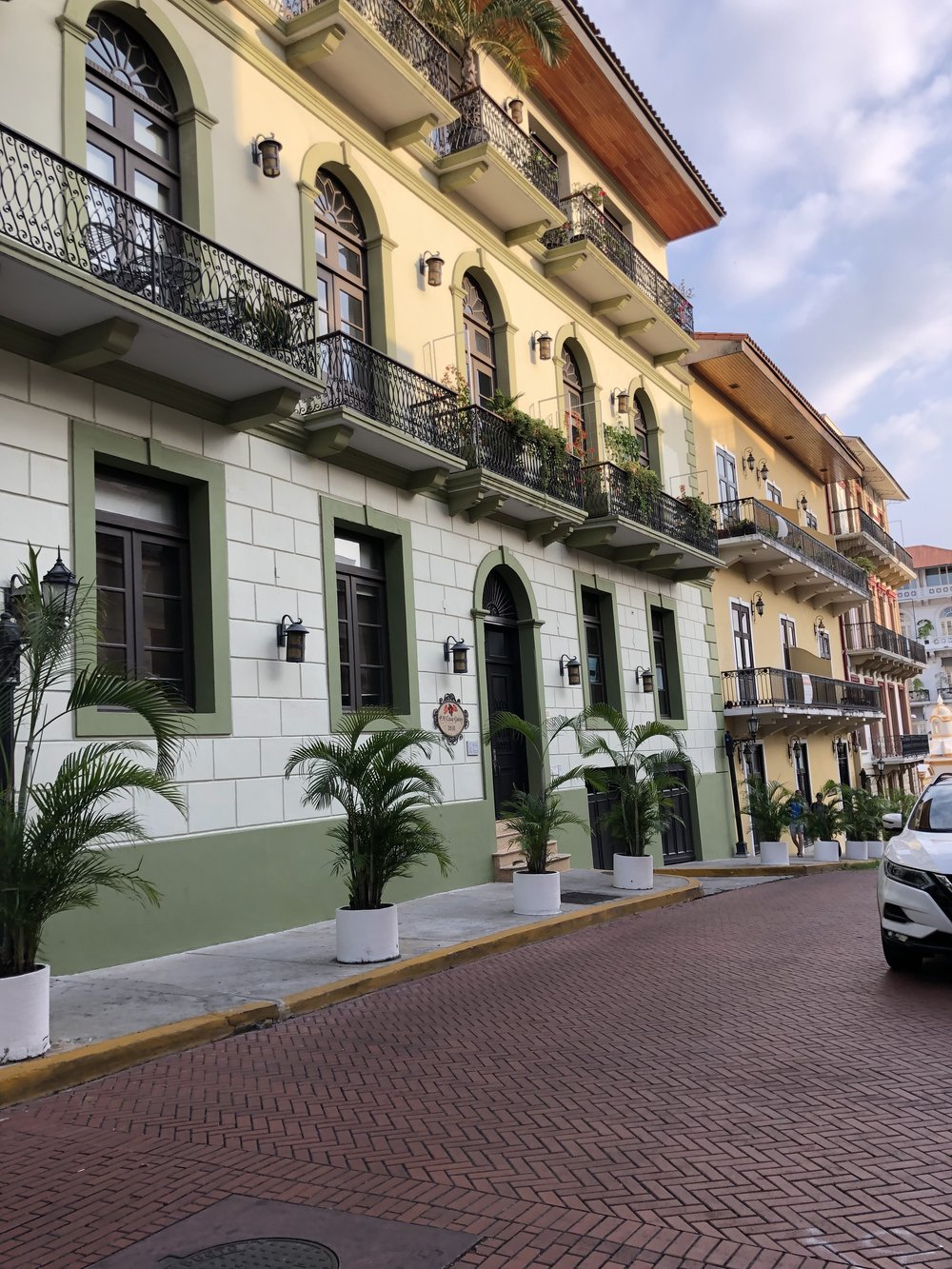 Casco Viejo, or the Old District, in Panama City.