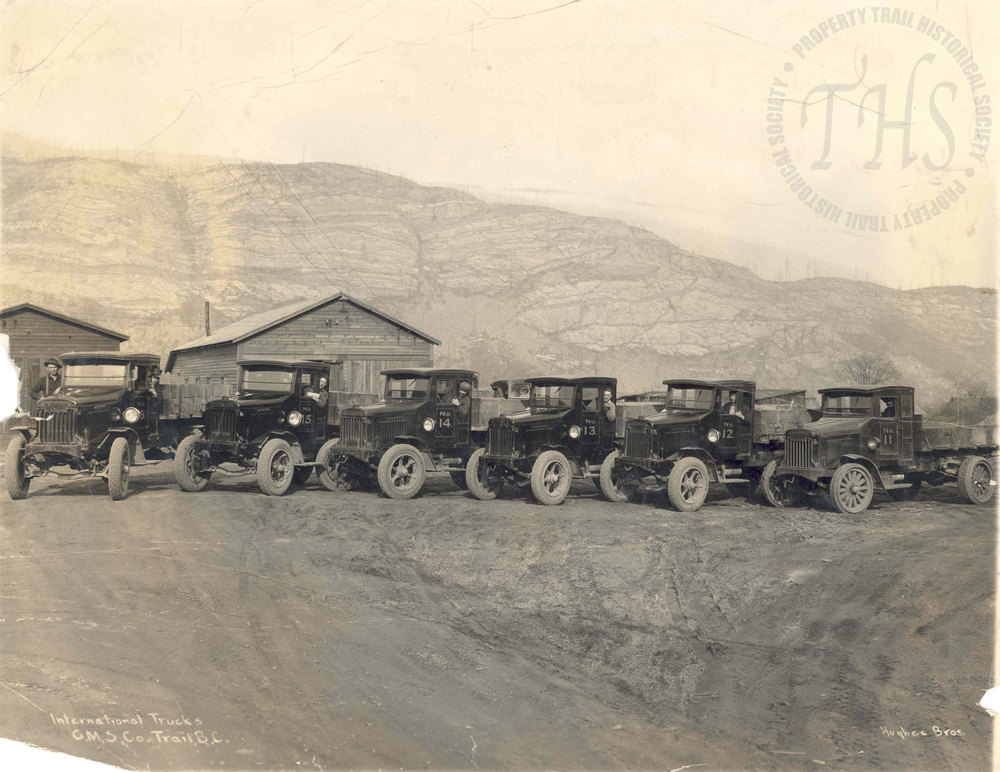 Cominco International Truck Fleet (Hughes) - 1922